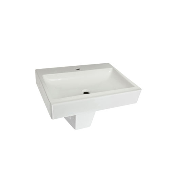 Power Lavabo 65x47 - Power Yarım Ayak